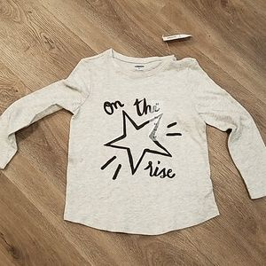 NWT! Old Navy star on the rise shirt.